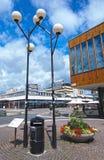 Vallingby latarnie uliczne Zdjęcie Stock