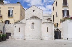 Vallisa church. Bari. Apulia. Stock Images