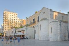 Vallisa kościelny Bari, apulia, Italy obraz royalty free