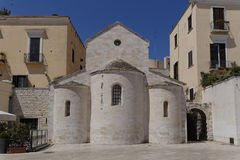 Vallisakerk Bari Italië Royalty-vrije Stock Afbeelding