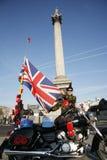 Vallmovädjan på minnedag Royaltyfri Foto