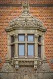 Vallo kasztelu okno zdjęcia royalty free