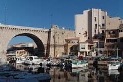 Vallon des Auffes Royalty Free Stock Image