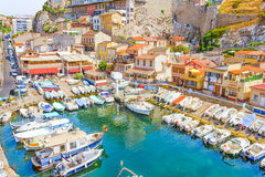 The Vallon des Auffes, Marseilles Royalty Free Stock Image