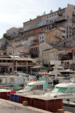 Vallon des Auffes port in Marseille Stock Images