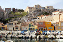 Vallon des Auffes port in Marseille Stock Photo