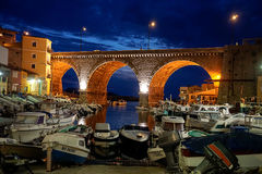 Vallon des Auffes after Sunset Royalty Free Stock Photo