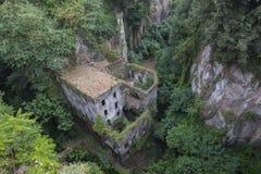 Vallone dei Mulini in Sorrento. Italy Stock Photo
