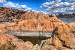 Vallons de lac AZ-Prescott-watson Photographie stock libre de droits