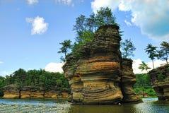 Vallons du Wisconsin Photo libre de droits