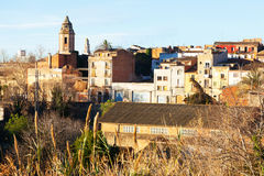 Valls in winter. Tarragona Stock Photo