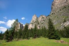 Vallunga mountains Stock Photography