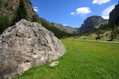 Vallunga (Val Gardena) Stock Image