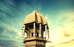Valluvar Kottam chennai city madras. Valluvar Kottam is located at the intersection of the Kodambakkam High road and the Village road in Nungambakkam royalty free stock photo