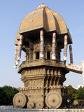 Valluvar Kottam. In Chennai, India is a chariot shaped memorial dedicated to the Tamil poet Tiruvalluvar Stock Image