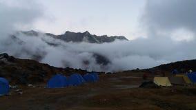 Vally облака Стоковая Фотография