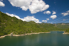 Vally. A lake in Beijing suburbs Stock Image