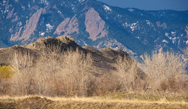 Valmont Butte near Boulder, Colorado Royalty Free Stock Photography