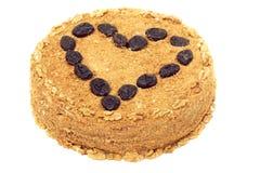 valnöt för cakehonungkatrinplommon Royaltyfri Foto
