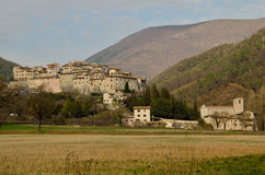 Valnerina village Royalty Free Stock Images