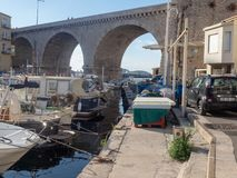 Valon des Aufes in Marseille, France royalty free stock photo