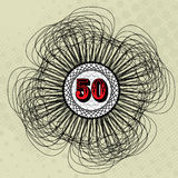 Valor 50 Imagem de Stock Royalty Free