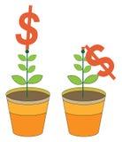 Valor del dinero Stock de ilustración