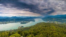 Valor del lago Imagenes de archivo
