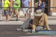 Valor del lago, la Florida, los E.E.U.U. 23-24 fabuloso, 25to Fest anual de la pintura de la calle 2019 imágenes de archivo libres de regalías