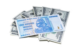 Valor do dinheiro Fotografia de Stock Royalty Free