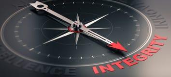 Valore del centro - integrità illustrazione di stock