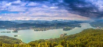 Valore del lago Fotografia Stock