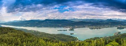 Valore del lago Fotografie Stock
