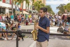 Valore del lago, Florida, U.S.A. 23-24 favoloso, Fest di verniciatura della venticinquesima via annuale 2019 fotografia stock libera da diritti