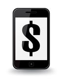 Valore dello Smart Phone Immagini Stock