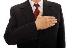 Valores de asunto - integridad Imagen de archivo libre de regalías