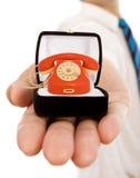 Valori di affari - impegno alla buona comunicazione Fotografia Stock Libera da Diritti