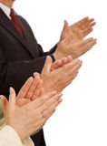 Valori di affari - prestazione della ricompensa e di rispetto Fotografia Stock Libera da Diritti