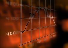 Valori di borsa illustrazione di stock