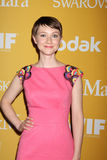 Valorie Curry arrives at the City of Hope's Music And Entertainment Industry Group Honors Bob Pittman Event. LOS ANGELES - JUN 12:  Valorie Curry arrives at the Royalty Free Stock Photography