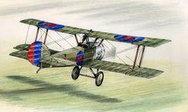 Valp för WW1 Sopwith Arkivfoto