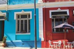ValparaÃso stad i Chile Arkivbild