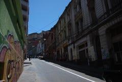 valparaiso οδών της Χιλής Στοκ Εικόνες