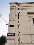 valparaiso Φεβρουαρίου σεισμού  στοκ εικόνες
