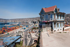 Valparaiso Lizenzfreies Stockfoto