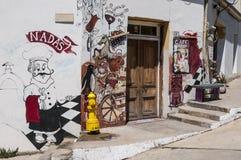 Valparaiso - arte mural Imagens de Stock