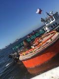 Valparaiso beach stock photo