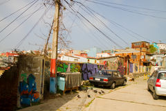 Valparaiso, Chile Streets Royalty Free Stock Images