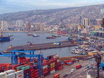 Valparaiso, Chili Image stock