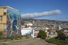 Valparaiso, gioiello del Pacifico Fotografie Stock Libere da Diritti